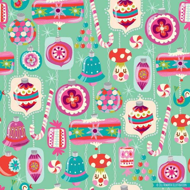 patterns and surface design - Jill Howarth Illustration