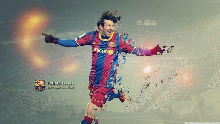 1366x768 Leo Messi Wallpaper For Desktop Background Free Download