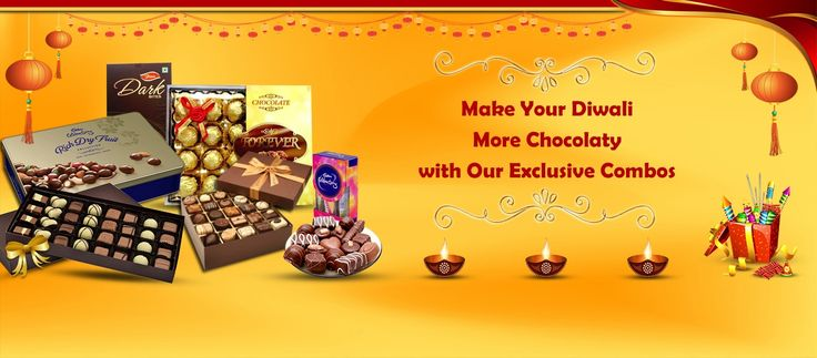 Make you or your loved ones Diwali more chocolatey with exclusive and branded combo gifts packs. These combo packs are the great option to celebrate festival this season. Visit for more details.