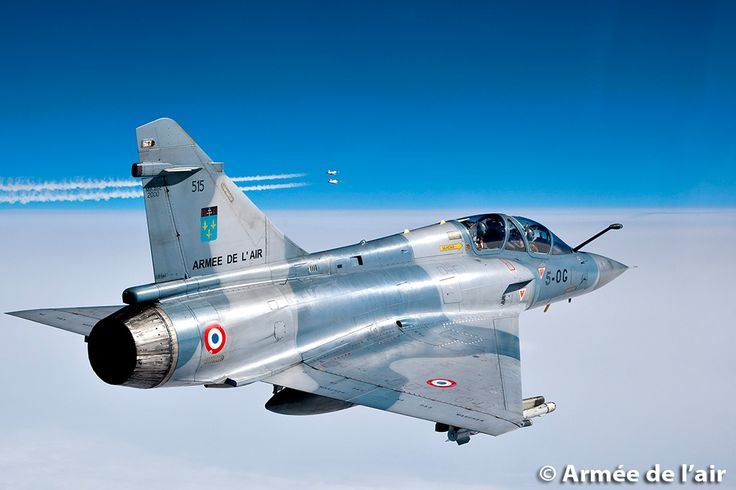 French Armée de l'Air Dassault Mirage 2000 of Escadron de Chasse 02.005 « Ile-De-France »