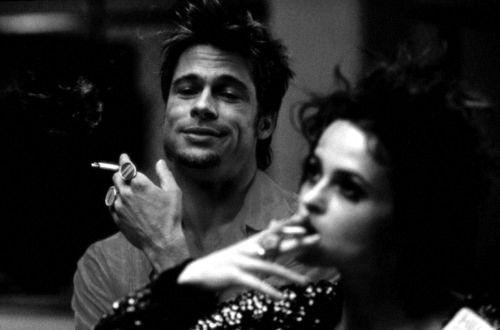 Marla. Il taglietto sul tuo palato che si rimarginerebbe, se smettessi di stuzzicarlo con la lingua... ma non puoi.: Film, Fightclub, Fight Club, Movies, Brad Pitt, David Fincher, People, Helena Bonham Carter