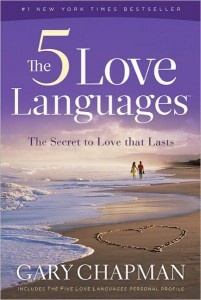 "The Five Love Languages by Gary Chapman. Honestly one of the best ""self-help"" books ever... I loved it. It brought me total insight into my marriage, and I got a lot of honesty out of him from it."