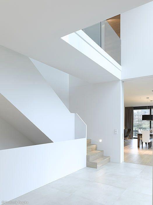 Modernes treppenhaus einfamilienhaus  50 besten Flur Treppenhaus Bilder auf Pinterest | Treppenhaus ...