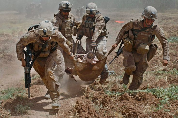 52 keiharde foto's van moderne oorlogsvoering | Flabber
