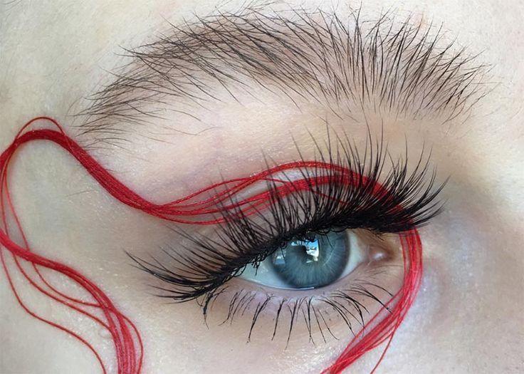 how to remove false eyelashes from eyes