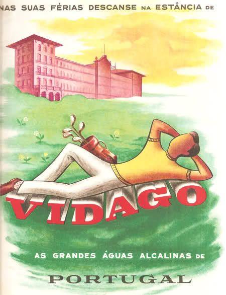 No Vidago. Revista Panorama, 1958.