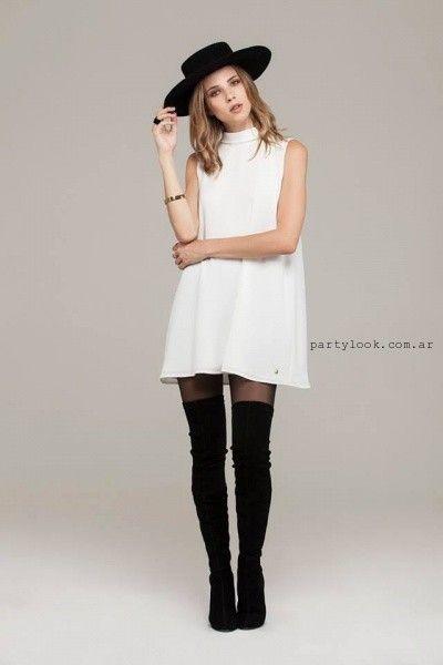 vestido-corto-blanco-con-bucaneras-ceilonia-invierno-2016.jpg (400×600)