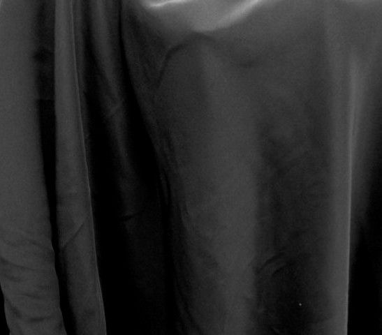 Stretch 4-Ply Silk Crepe - Black - Gorgeous FabricsGorgeous Fabrics