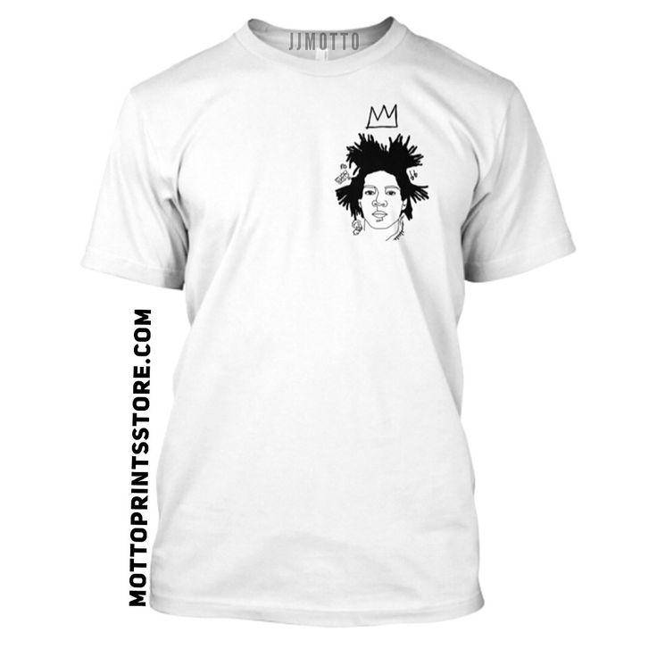 JJmotto art clothing. Basquiat. Mottoprintsstore.com