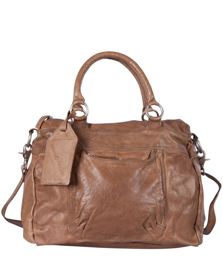 """De Londonderry van Cowboysbag is gemaakt van heerlijk soepel leer, is licht en d.m.v. het lange hengsel ook nog eens cross-body te dragen. De tas is gemaakt van superzacht leer met een """"gebruikte"""" vintage uitstraling."""