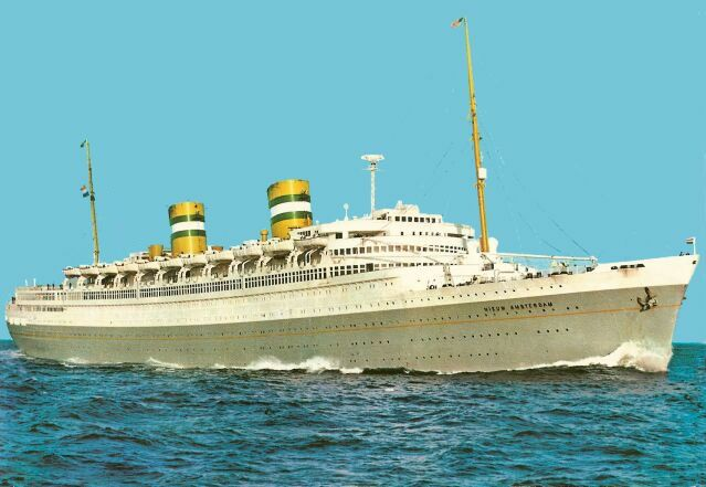 .Holland-America Line's magnificent Nieuw Amsterdam 1938-1974