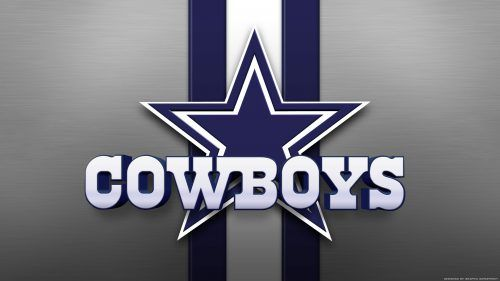 Free Download of Dallas Cowboys Background with Logo in High Resolution