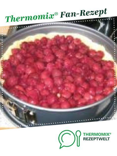 Weltbester Kirsch-Streusel-Kuchen von chilly. Ein Thermomix ® Rezept aus der Kategorie Backen süß auf www.rezeptwelt.de, der Thermomix ® Community.