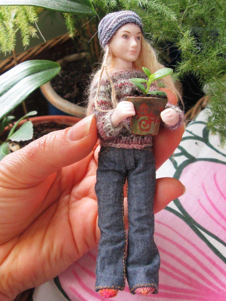 Doll and pot by Taru Astikainen, styling by Hanna & Leijona