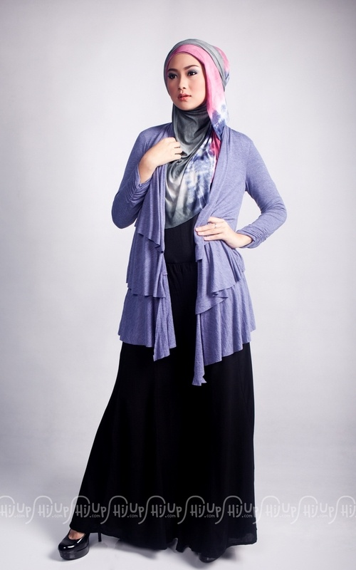 Ruffle Cardi by Ria Miranda. New colors are available. Grab it fast on www.hijup.com