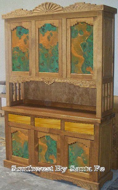 Southwestern Style China And Corner Cabinets For The Home Pinterest Southwestern Style