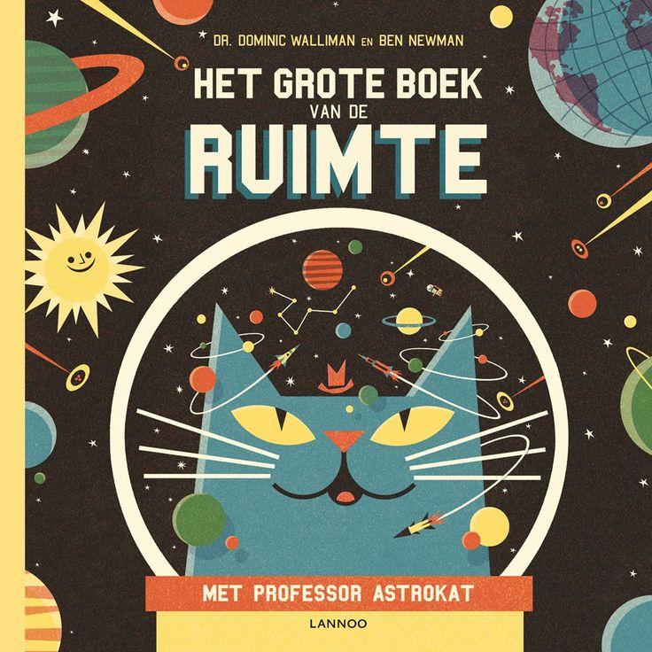 Professor Astrokat is de slimste kat ter wereld en neemt je mee op een indrukwekkende reis boordevol leuke weetjes en fascinerende feiten over de ruimte.