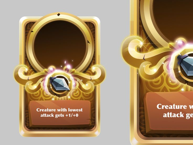 Gold special card