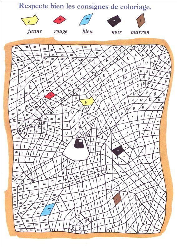 Les 25 meilleures idées de la catégorie Coloriage magique grande section sur Pinterest ...