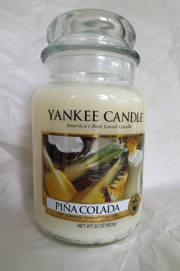 Yankee Candle  piña colada. #YankeeCandle #MyRelaxingRituals