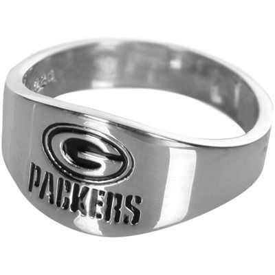 Green Bay Packers Logo Sterling Silver Ring...Jewelry