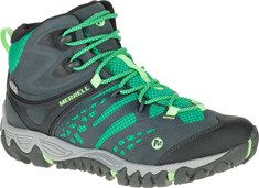 Women's+Merrell+All+Out+Blaze+Vent+Mid+Waterproof+Hiking+Boot+-+Brown+with+FREE+Shipping+&+Exchanges.+Lightweight+and+comfortable,+the+All+Out+Blaze+Vent+Mid+Waterproof+Hiking+