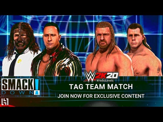Wwe 2k20 The Rock And Sock Connection Vs Dx Tag Team Match Gameplay Https Www Youtube Com Watch V 7dkpd4rij4q Hellolev Call Of Duty Black Wwe Star Citizen