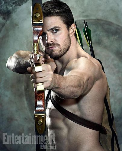 """""""Arrow"""" I'm newly in love with this show. Mosty for it's awesome amount of hot guy shirtless-ness. But also because it's decently done comic book adaptation..... Oh and you know... The hotness and his shirtless-ness."""