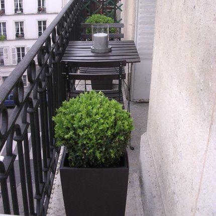 Les 25 meilleures id es concernant petits balcons sur for Decoration jardin balcon
