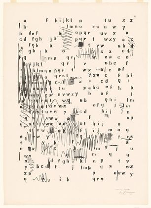 IVY & LIV - Art | Jasper Johns - Alphabets 1962