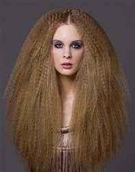 Crimp hair. scary ..love it