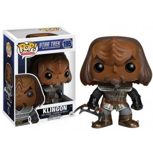 Funko Pop! Klingon 195, Star Trek, Nex Generation, Guerra nas Estrelas, Nova Geração, Funkomania, Filmes, Séries