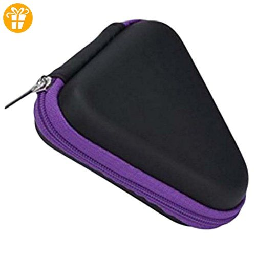 Hosaire Tasche Box Schutzkoffer für Kopfhörer Staubdicht Hand Spinner Tragetasche Paket Fidget Spinner Fokus Gyro Carry Spielzeug Bag Case,Lila - Fidget spinner (*Partner-Link)