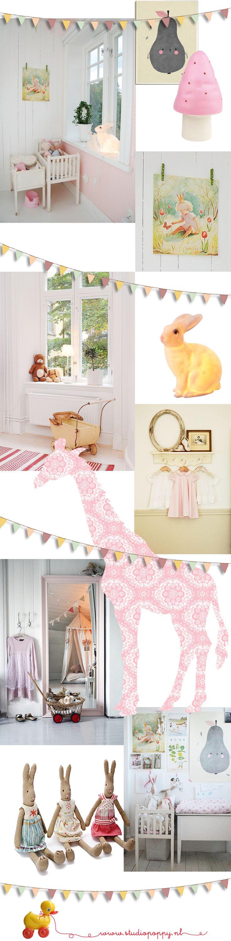 Inspiratie romantische babykamer