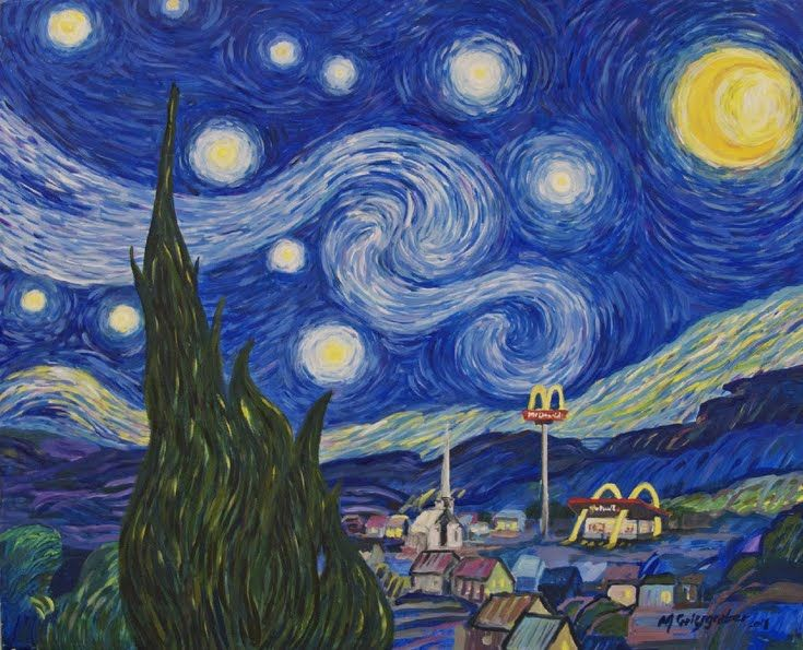 27 best Van Gogh Starry Night Fun images on Pinterest ...
