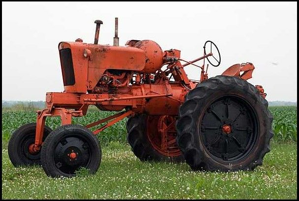 1952 Allis Chalmers UC High Crop LP Tractor presented as lot S66 at Walworth, WI 2010 - image1