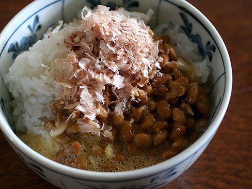 Japanese food: Natto