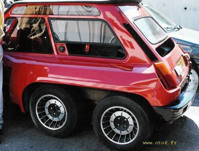 Renault 5 - 6x6