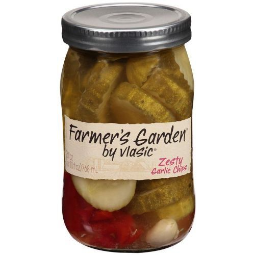 Farmers Garden Zesty Garlic Chips Pickle 26 Fluid Ounce  6 per case *** Be sure to check out this awesome product.(This is an Amazon affiliate link)