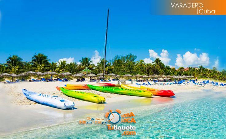 Saborea a Cuba en esta súper fiesta internacional para solteros en Varadero (Cuba) al mejor precio desde USD 1.310 --> Conoce la promoción http://goo.gl/oEZRLj