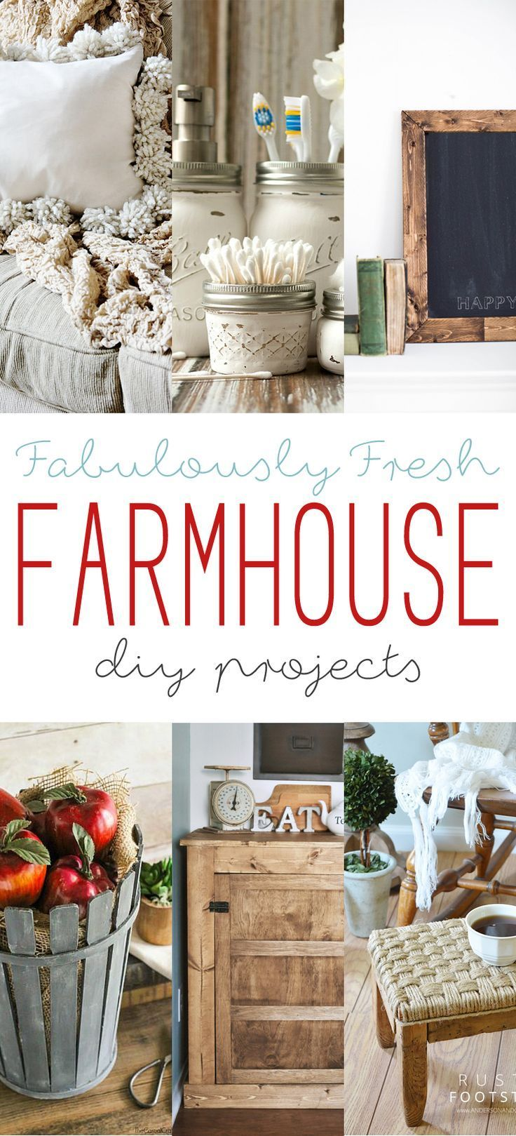 1739 Best Diy Decorating Images On Pinterest Farmhouse Style Farmhouse Decor And Craft Projects