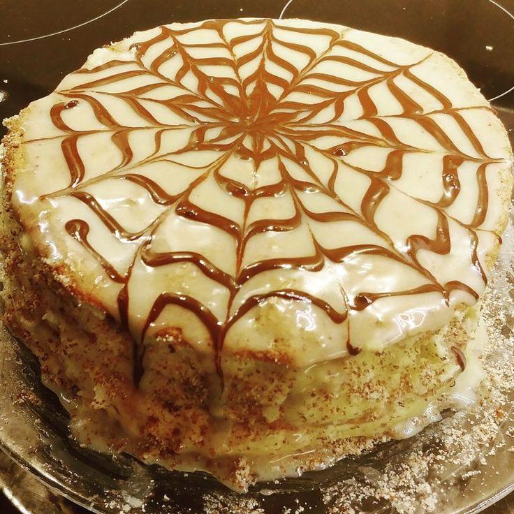 рецепт торта эстерхази с пошаговым фото
