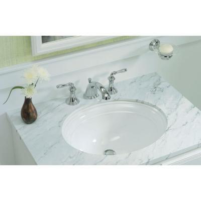 KOHLER Devonshire Undermount Bathroom Sink in White - K-2336-0 at The ...
