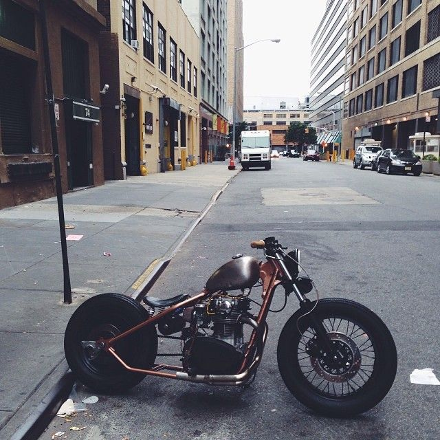 XS650 bobber,  Favorite motorcycle I've seen to date.