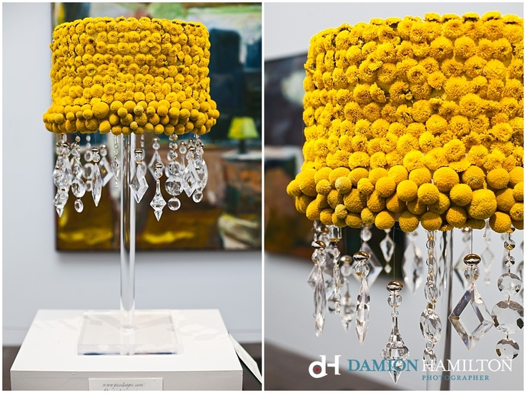 Floral Art Lampshade