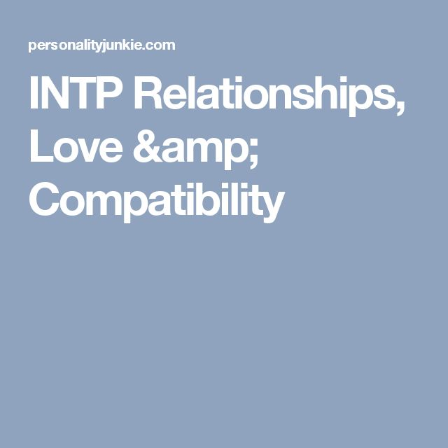 intp infj dating