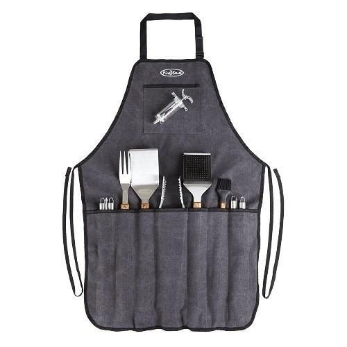 Elite Stainless Steel BBQ Grill Tool Set