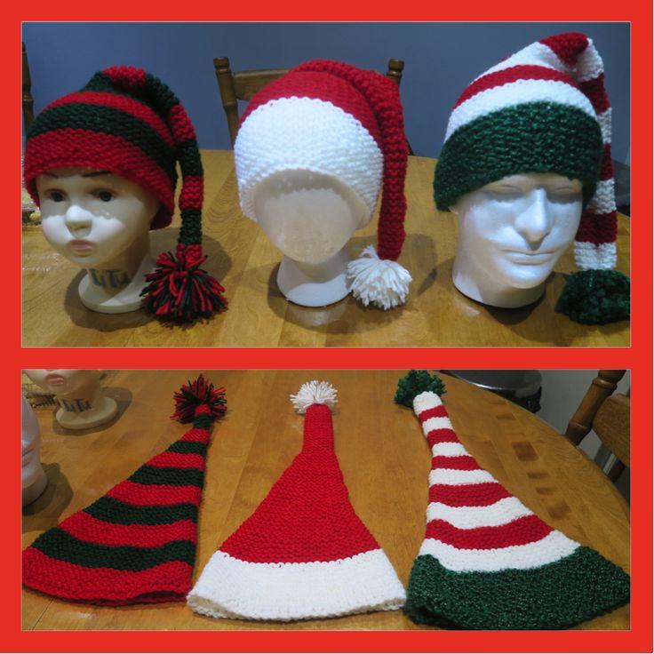 Long stocking Christmas hats