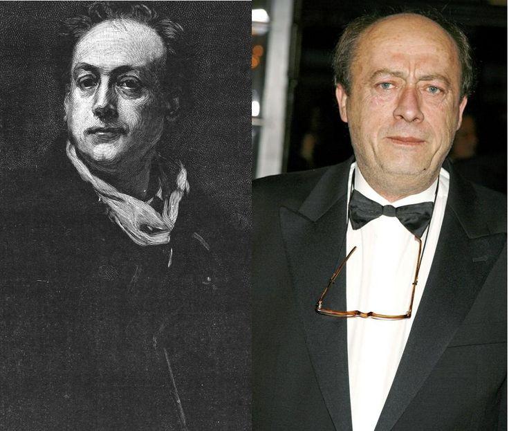 Théodore de Banville / Étienne Chicot (© Abaca) (by http://www.pinterest.com/blouzouga/)