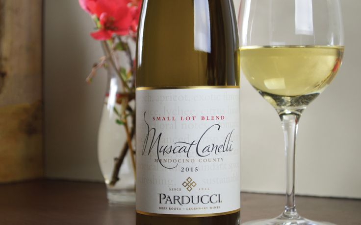 Muscat Canelli and Parducci Wine Cellars go way back. We've been crafting this fragrant, white wine for well over 30 years: some vintages as a full-on dessert wine, others as a medium-sweet wine with a flavor profile more closely akin to Gewürztraminer.